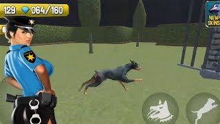 СИМУЛЯТОР полицейской собаки Ищем улики Игровой мультик для детей СИМУЛЯТОР