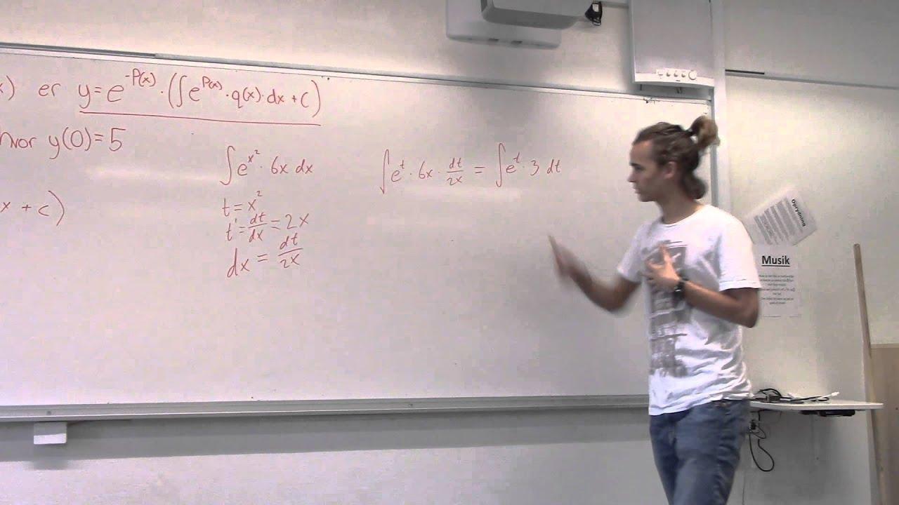 Lineære differentialligninger (Gruppe 3)