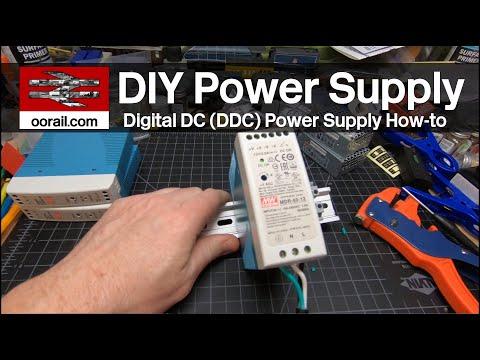 Model Railway Digital DC Power Supply Howto | oorail.com