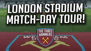 Match-Day Tour of the London Stadium! *Behind the Scenes*