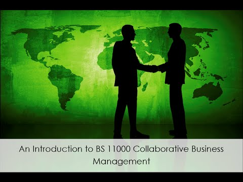 An Introduction to BS 11000 Collaborative Business Management