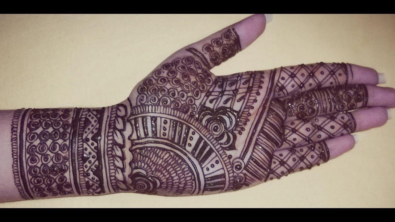 baby hand mehndi design full hand