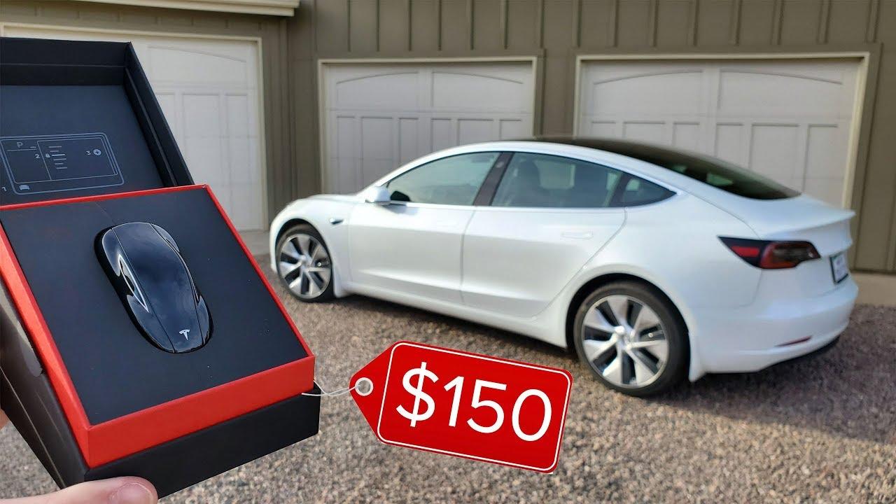 Is the $150 Tesla Model 3 Key Fob Worth it? - YouTube