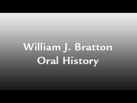 NYC Transit Police | William J. Bratton Oral History Interview