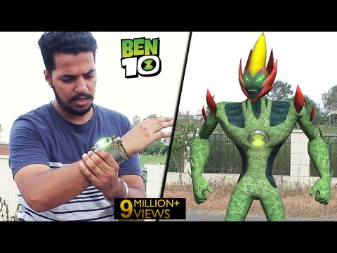 Ben 10 Transformation In Real Life! | A Short Film VFX Test