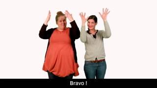Mon premier cours de langue des signes