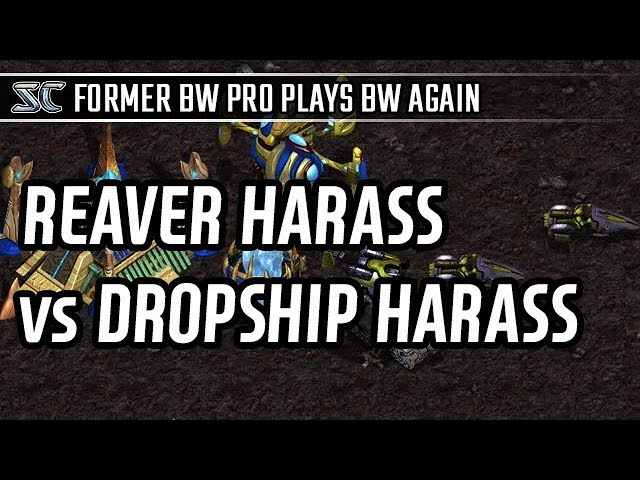 Reaver harass vs Dropship Harass l StarCraft 2: Legacy of the Void l Crank
