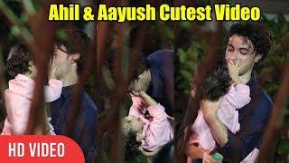 Ahil & Aayush Sharma Cutest Video | Salman khan Nephew Ahil Sharma