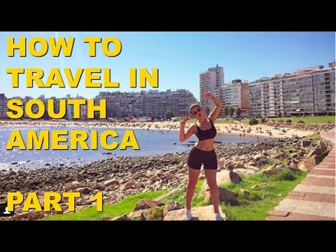 Travelling to Argentina, Montevideo, Uruguay, Patagonia - PART 1