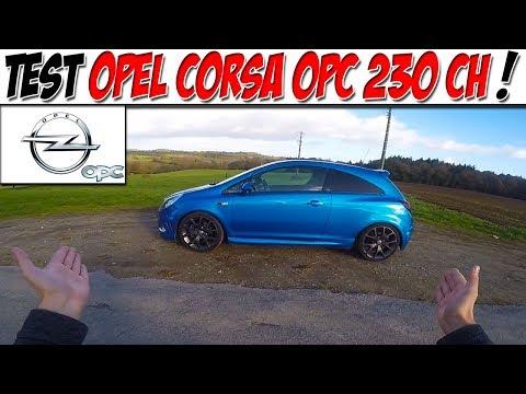 #CarVlog 34 : Test OPEL CORSA OPC 230 CH / TRAIN AVANT EN PLS !😍
