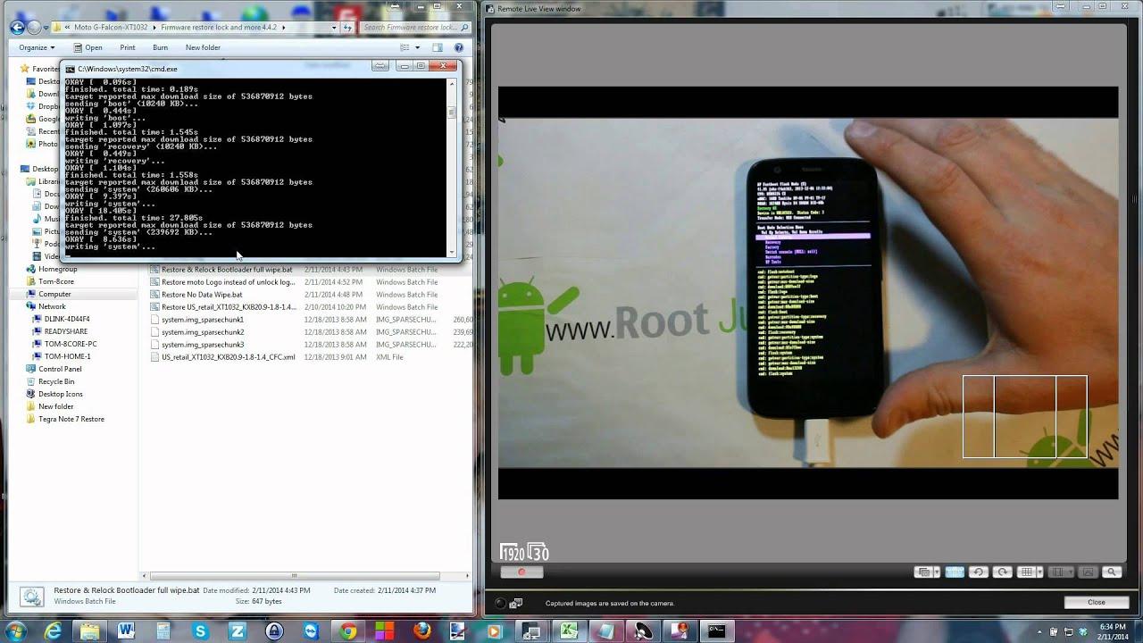 Motorola Firmware Restore | RootJunky com