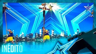 ¡Qué RARO! Este DEPORTE TRADICIONAL sorprende a la audiencia | Inéditos | Got Talent España 5 (2019)