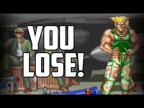 All the ways the AI cheated on you in Street Fighter 2