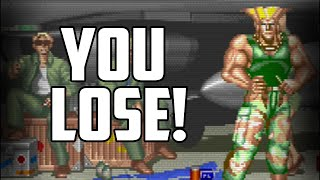 How the CPU cheated you in Street Fighter 2