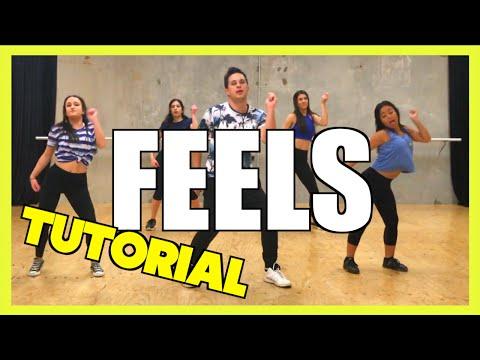 FEELS - Calvin Harris ft. Pharrell, Katy Perry & Big Sean Dance TUTORIAL 🖖 Jayden Rodrigues