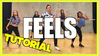 FEELS - Calvin Harris ft. Pharrell, Katy Perry & Big Sean Dance TUTORIAL 🖖 Jayden Rodrigues