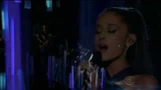 Ariana Grande - Just a Little Bit of Your Heart (57th GRAMMYs) [HD]