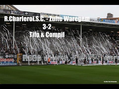 R. Charleroi .S.C. - S.V.Zulte-Waregem 3-2 Tifo's & Compil' By Julien Trips Photography