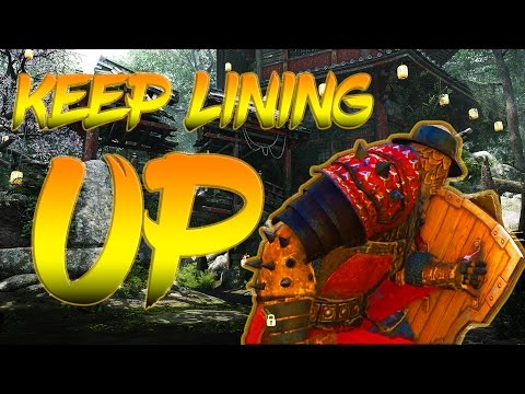 For Honor - KEEP LINING UP - DOMINION GAMEPLAY