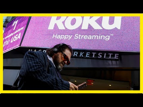 Roku soars 13% after a wall street analyst says it could compete with  (roku, nflx)