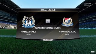 FIFA 18 - Copa J League - Gamba Osaka vs. Yokohama F. M. @ Suita City Football Stadium