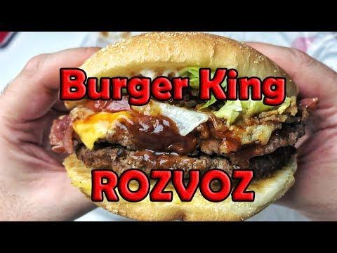 ROZVOZ OD BURGER KINGU!