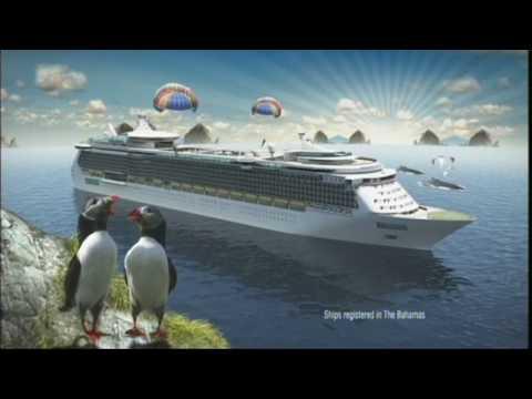 Royal Caribbean ad