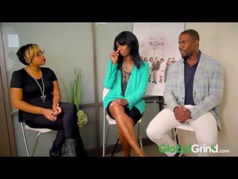 Tasha Smith & Michael Jai White Talk Dysfunctional Black Love
