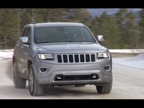 2014 Jeep Grand Cherokee Ecodiesel Too Much Torque On Ice Youtube