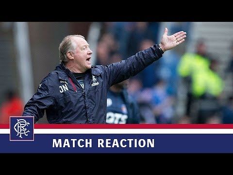 REACTION   Jimmy Nicholl   Rangers 1-0 Kilmarnock