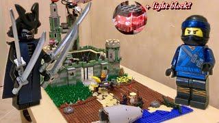 ОБЗОР НА МОЮ ЛЕГО САМОДЕЛКУ ПО ЛЕГО НИНДЗЯГО ФИЛЬМ / ТАЙНАЯ КРЕПОСТЬ ГАРМАДОНА -The Lego Ninjago
