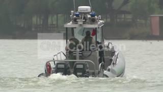 BORDER CRISIS:AGENTS PATROL RIO GRANDE IN BOATS