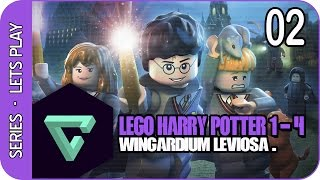 LEGO HARRY POTTER | GAMEPLAY ESPAÑOL HD | CAPITULO 02 | WINGARDIUM LEVIOSA.