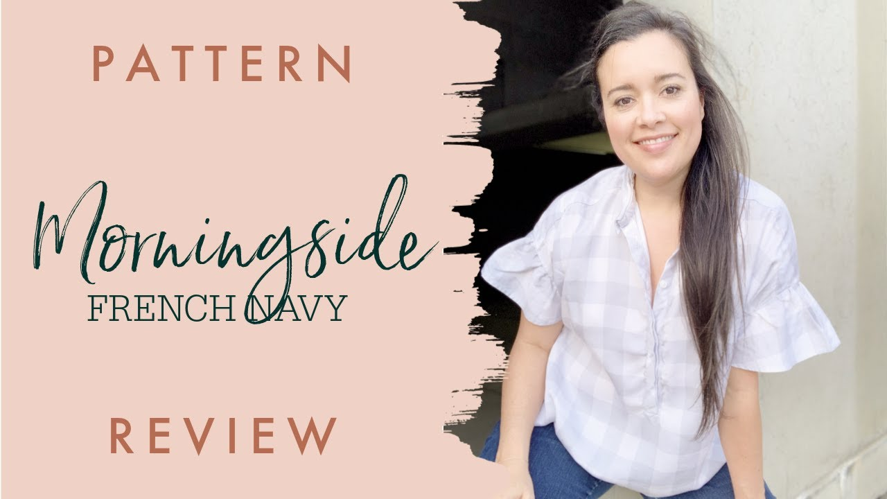 French Navy Morningside Top  |  Sewing Pattern Review