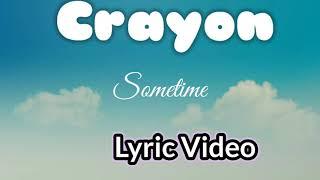 Crayon___sometime(Lyric Video)