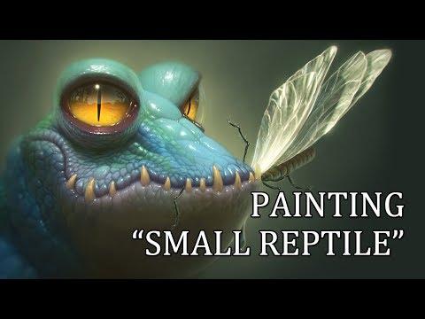 "Speedpainting - ""Small Reptile"""