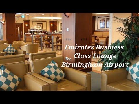 Emirates Business Class Airport Lounge Birmingham Airport
