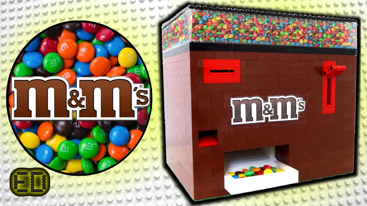 lego m m 39 s machine youtube. Black Bedroom Furniture Sets. Home Design Ideas