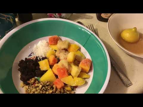 Food for a Month Meal-Oven Barbecued Chicken,Vegetable Fried Rice/Recipe & Fruit Salad