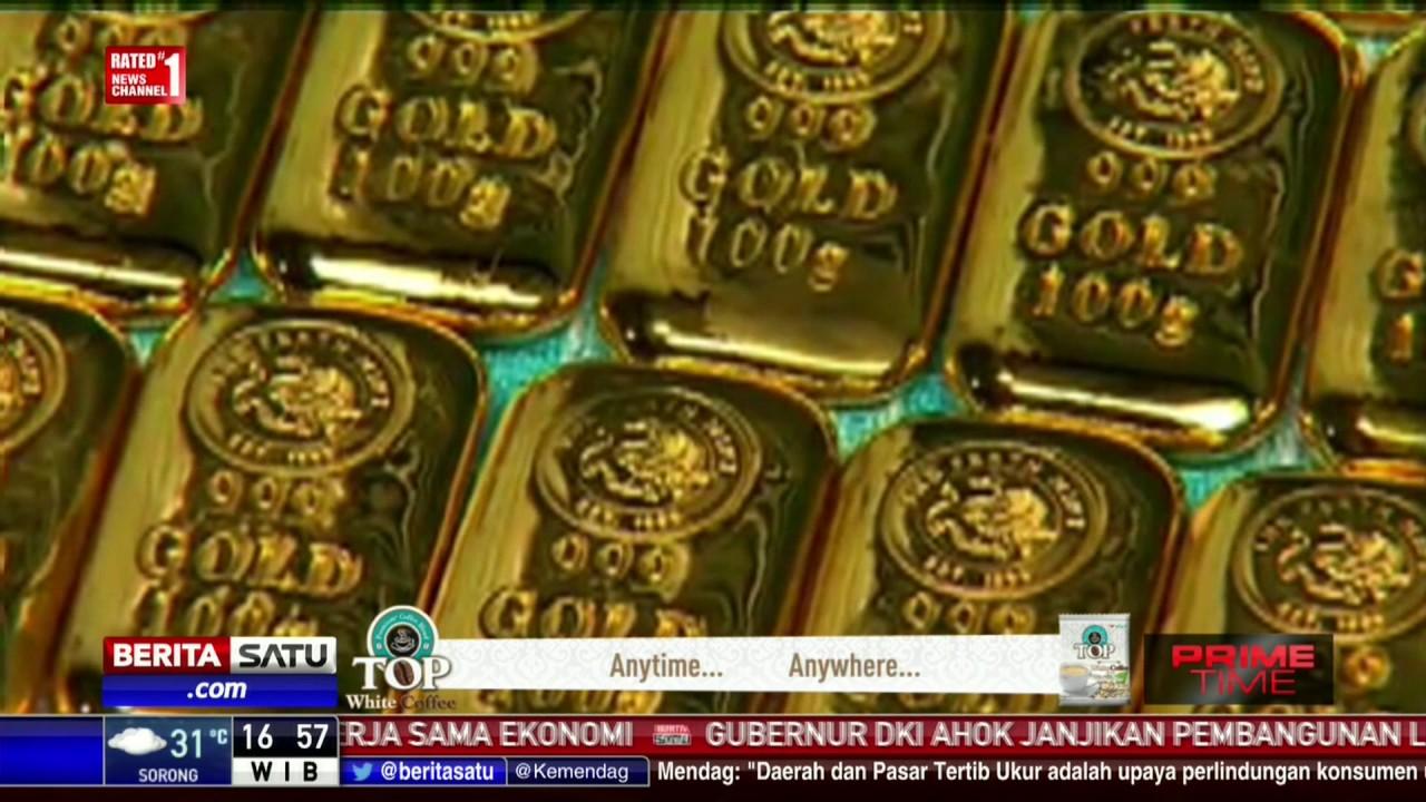 Daftar Harga Emas Batangan Antam Per 24 Februari 2017 Youtube