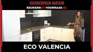 Eco Valencia Keuken Uit Voorraad Keukencentrum Marssum Youtube