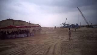 حفر قناة السويس الجديدة تحت حراسة الجيش
