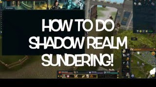 How to do Shadow Realm Sundering Promo! Rates and Boxes:Bond! Runescape EOC
