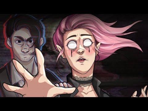 'They're Here...' - Dark Amy & Darkiplier Speedpaint