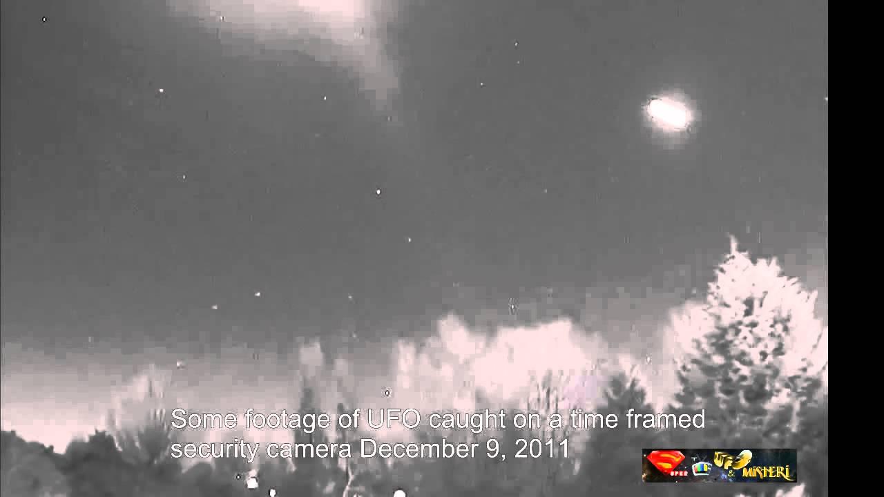 Ufo ripresi da videocamera di sicurezza 9 dicembre 2011 - Videocamera di sicurezza ...