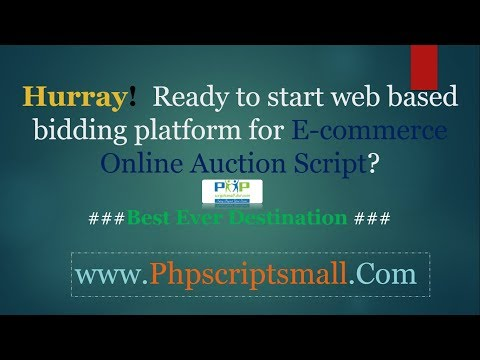 Buy and Sell Marketplace Script   Online Auction Script