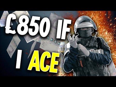 Getting PAID to ACE - Rainbow Six Siege