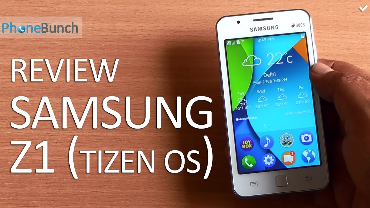 Samsung z1 tizen full review youtube samsung z1 tizen full review ccuart Image collections
