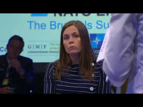 NATO Engages Day 2: A Conversation with Katrin Jakobsdottir