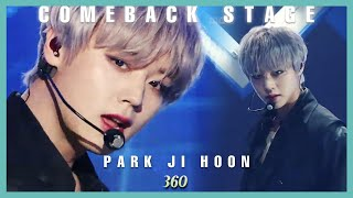 Download lagu [Comeback Stage] Park Ji Hoon - 360,  박지훈 - 360 Show Music core 20191207